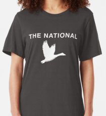 The National - The Geese of Beverly Road Slim Fit T-Shirt