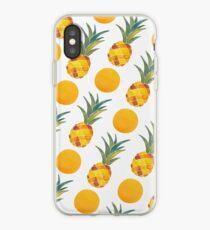 Vinilo o funda para iPhone Pineapple Pattern