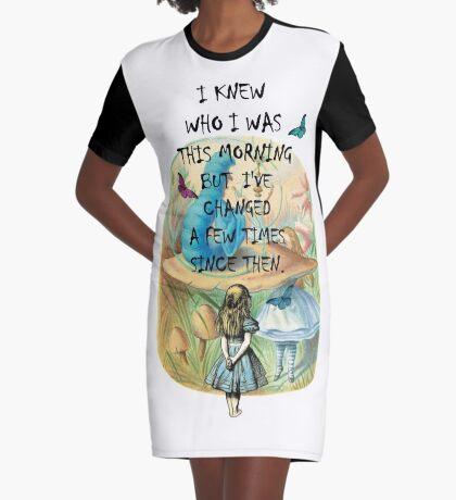 Cita Alicia en el país de las maravillas Vestido camiseta