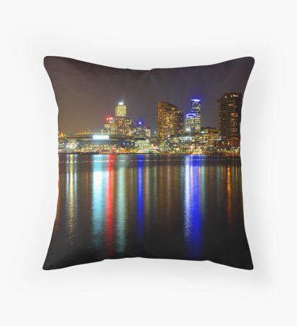 Docklands 2 Throw Pillow