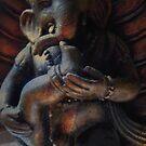 Dancing Ganesh by Tama Blough