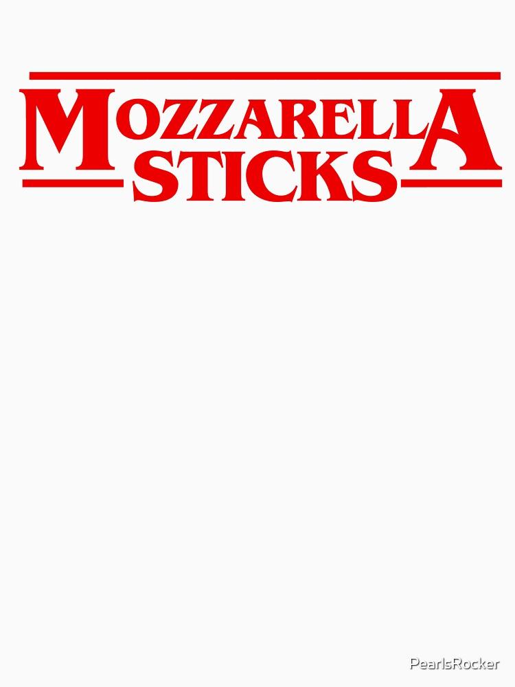 Stranger Mozzarella Sticks Tv Movie Meme Classic T Shirt By