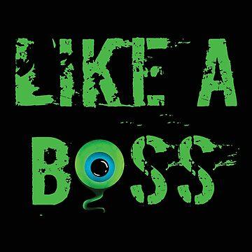 Like A Boss Septic Eye Meme Design by kudostees