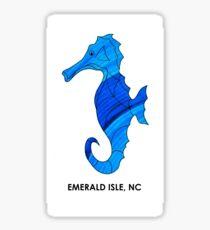 Blue Sea Horse (Emerald Isle, NC) Sticker