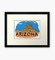 Arizona Framed Print