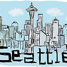 Seattle city by Logan81