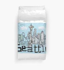 Seattle city Duvet Cover