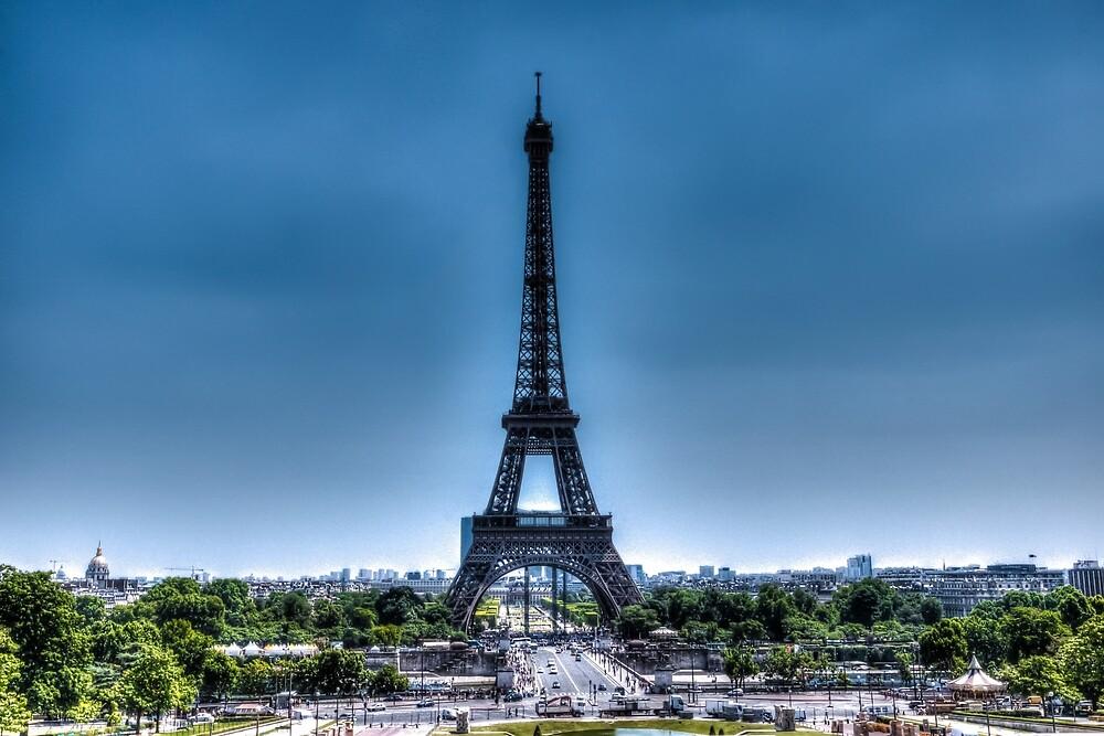 Eiffel Tower 6 by John Velocci