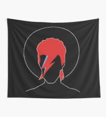 David Bowie Tribute Wall Tapestry