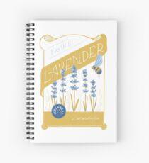 Lavender Spiral Notebook