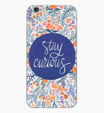 Stay Curious – Navy & Coral iPhone Case
