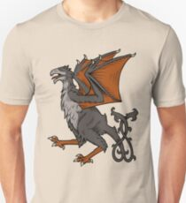 Yi qi the Wyvern Slim Fit T-Shirt