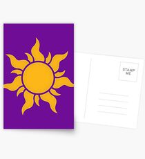 Tangled Kingdom Sun Postcards