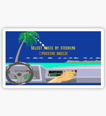 OUT RUN RADIO Sticker