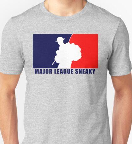 """Little Top presents """"Major League Sneaky""""  LRRP, LRSC, LRSD Sticker T-Shirt"""