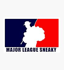 "Little Top presents ""Major League Sneaky""  LRRP, LRSC, LRSD Sticker Photographic Print"