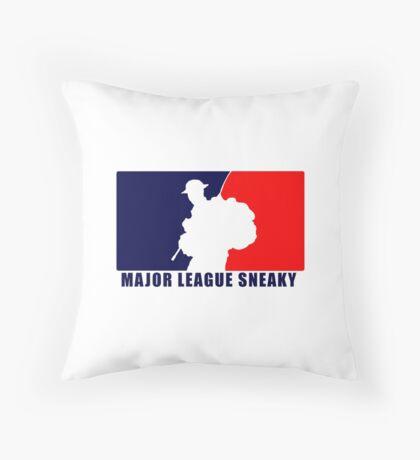 """Little Top presents """"Major League Sneaky""""  LRRP, LRSC, LRSD Sticker Floor Pillow"""