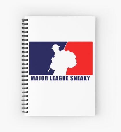 """Little Top presents """"Major League Sneaky""""  LRRP, LRSC, LRSD Sticker Spiral Notebook"""