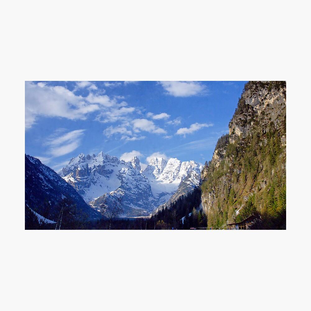 Mountains Majestic (Italian Dolomites) Lámina fotográfica