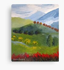 My valley Canvas Print