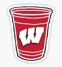University of Wisconsin Cup Sticker