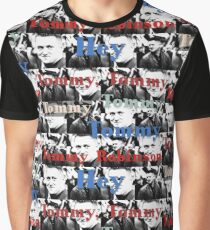 Hey Tommy Robinson  Graphic T-Shirt