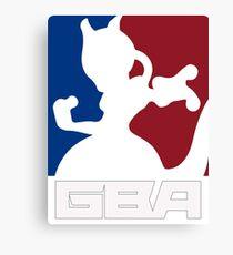 GBA - T-Shirt Canvas Print