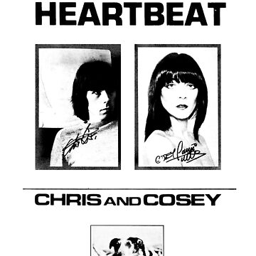 Chris & Cosey - Heartbeat black by SynthSkin