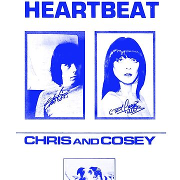 Chris & Cosey - Heartbeat blue by SynthSkin