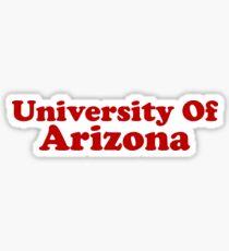 University Of Arizona ~ College School Student Sticker