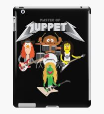 Master of Muppets 2 - Muppets as Metallica Band iPad Case/Skin