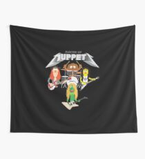 Master of Muppets 2 - Muppets as Metallica Band Wall Tapestry
