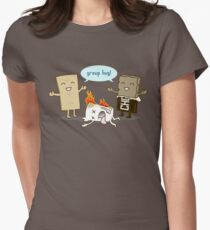 Funny S'mores - GROUP HUG! Women's Fitted T-Shirt