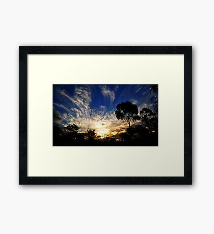 Stolen by the Night Framed Print
