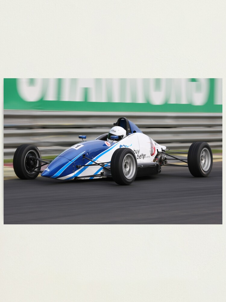 Alternate view of Formula Ford Photographic Print