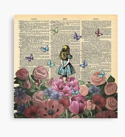 Alicia en el país de las maravillas - Wonderland Garden Lienzo