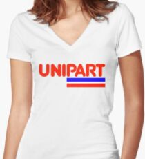 Unipart - The Parts of Quality Women's Fitted V-Neck T-Shirt