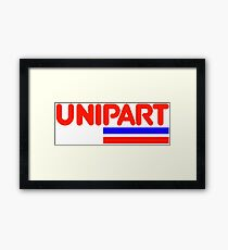 Unipart - The Parts of Quality Framed Print