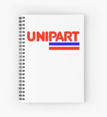 Unipart - The Parts of Quality Spiral Notebook