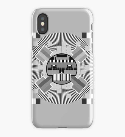 TestScreenSkull iPhone Case/Skin