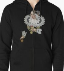 Anna Rosina Marquart Disconnected  Zipped Hoodie