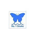 Butterfly - number 1 stroke! by John Chilton