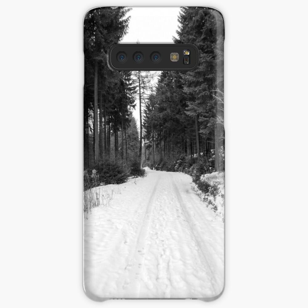 Winterlandschaft Hülle & Klebefolie für Samsung Galaxy
