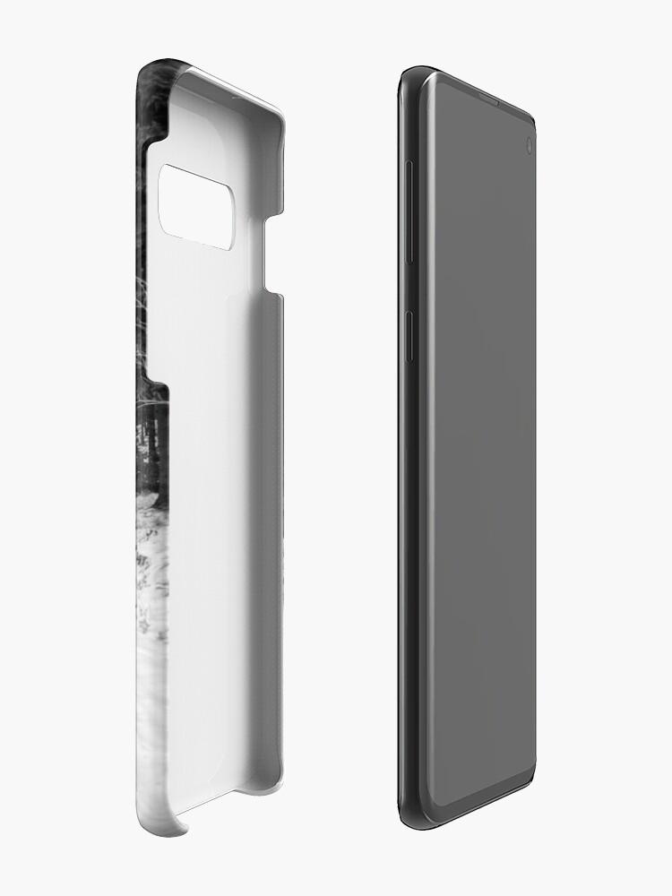 Alternative Ansicht von Winterlandschaft Hülle & Klebefolie für Samsung Galaxy