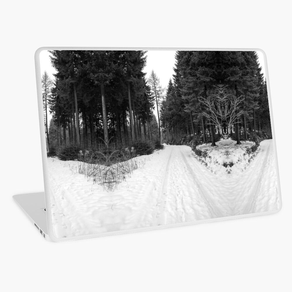 Winterlandschaft Laptop Folie