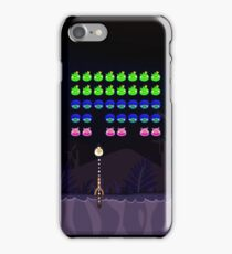 """Space Birds """"Angry Invaders"""" iPhone Case/Skin"""