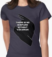 There is no Shepard without Vakarian Women's Fitted T-Shirt
