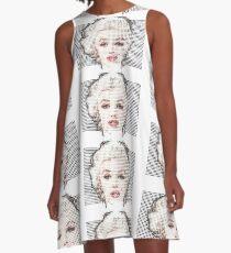 Marilyn Monroe in Dots A-Line Dress