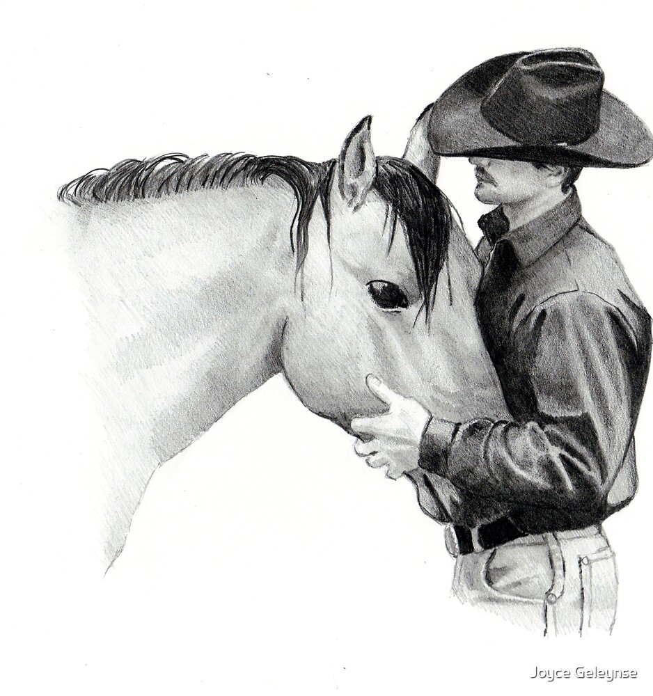 The Horse Trainer, No. 2 by Joyce Geleynse