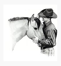 The Horse Trainer, No. 2 Photographic Print